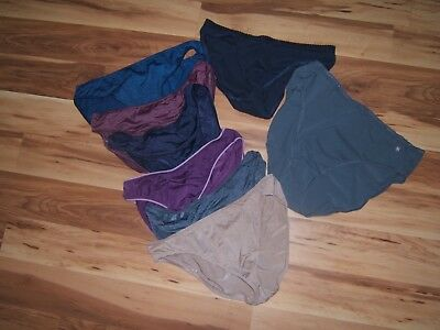 Vtg Lot Of Eight Victoria's Secret Bikini Panties Sz Large L