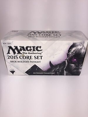 MTG Magic the Gathering 2015 Core Set Deck Builder's Toolkit NEW 285 Cards
