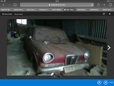 Wolseley Six Automatic !!! , Barn Find!!! Been In Same Familey Yrs !!!