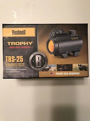 Bushnell Trophy TRS-25 Red Dot Sight mint condition