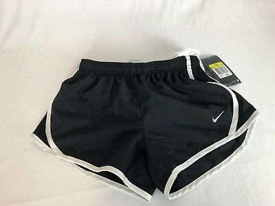 NWT Nike Tempo Dri-Fit Girl's Youth Sz Small Running Shorts Black $25 MSRP