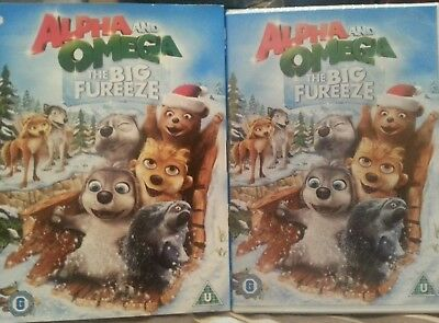 Alpha and Omega: The Big Fureeze [DVD] new and sealed in slip case