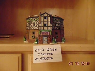 Dept 56 Dickens' Village Old Globe Theater 58501