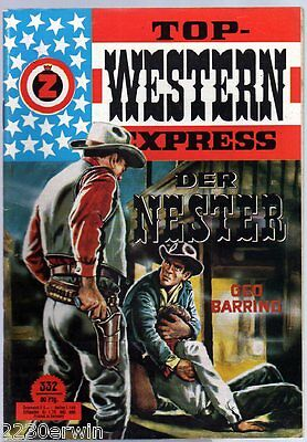 TOP WESTERN EXPRESS 332 / Geo Barring / (1962-1975 Indra-Verlag)