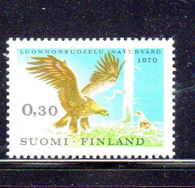 Finland #490  1970  Golden Eagle     Mint  Vf Nh  O.g