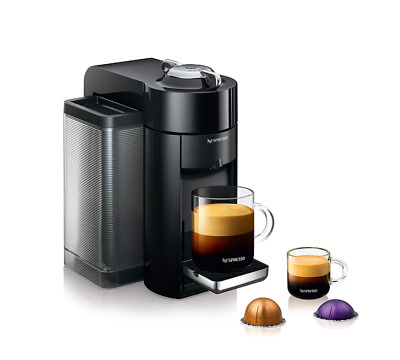 DeLonghi Nespresso Vertuo Coffee Espresso Machine DeLonghi Black 12 pods $250