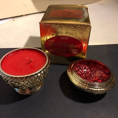 Avon Vintage First Christmas Candle Frankincense and Myrrh Collectible Rare-*NEW