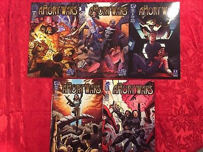 The Amory Wars Vol 1 #1-5. Excellent Condition