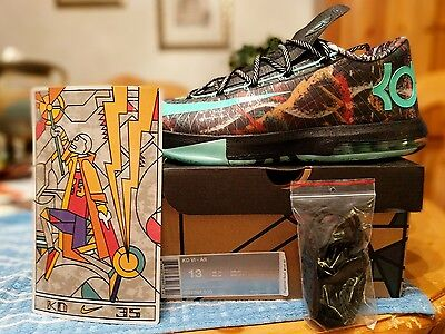 879bcbf49a81 NIKE KD 6 VI Kevin Durant All-Star Gumbo League Size 13 -  125.00 ...
