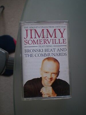 Jimmy Somerville - The Singles Collection - Cassette Tape Album