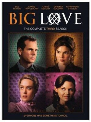 BIG LOVE THE Complete Third Season (DVD- 4 Disc Set) New Box Set HBO Series