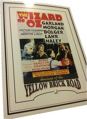 The WIZARD OF OZ shavings of YELLOW BRICK ROAD relic piece portion worn prop