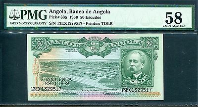 Angola Angola Portugal 50 Escudos 1956 Pick 88 Look Scans Wide Selection;