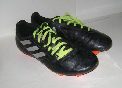 lowest price 04bf2 888b7 ADIDAS Conquisto II FG Mens Soccer Cleats Shoes AQ4311 size 7.5 Black  Silver