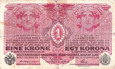 Currency Selection, Austria, 1 Krona