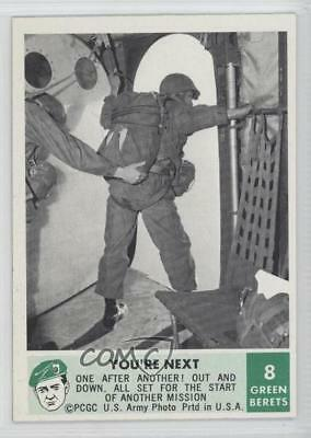 1966 Philadelphia Men of the Green Berets #8 You're Next Non-Sports Card 9gm