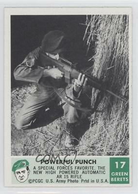 1966 Philadelphia Men of the Green Berets #17 Powerful Punch Non-Sports Card 9gm
