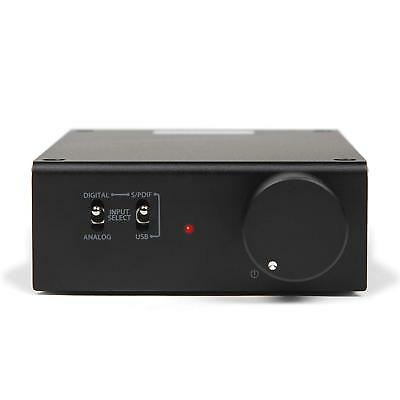Micca OriGain AD250 Integrated Amplifier with USB and Optical Digital Audio DAC