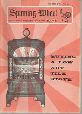 Spinning Wheel The National Magazine About Antiques November 1970