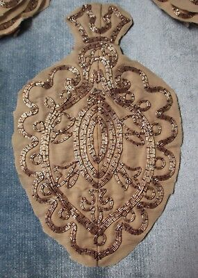 Antique Embroidery 41 Medallions & Fragments Church Dossal English Exquisite