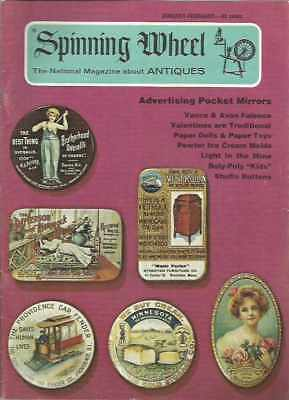 Spinning Wheel The National Magazine About Antiques January-February 1974