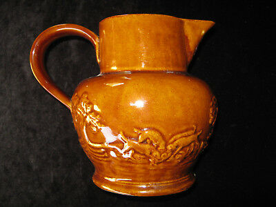 VINTAGE POTTERY JUG by  PEARSONS of CHESTERFIELD, MADE IN ENGLAND