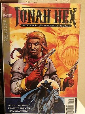 Jonah Hex Riders of The Worm and Such #1-4 (out of five) Mini Series DC/Vertigo