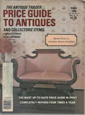 The Antique Trader Price Guide To Antiques and Collectors' Items Fall 1980