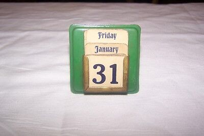 Vintage Miniature Calendar Really Cool And Small Complete