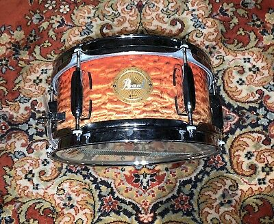 """Pearl Limited Edition Artisan II 10"""" x 5"""" Snare Drum: Artisan II Ruby Fade"""