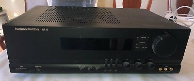 HARMAN KARDON AVR10 AVR-10 RECEIVER. Works