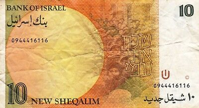 Currency Selection, Israel, 10 Sheqalim
