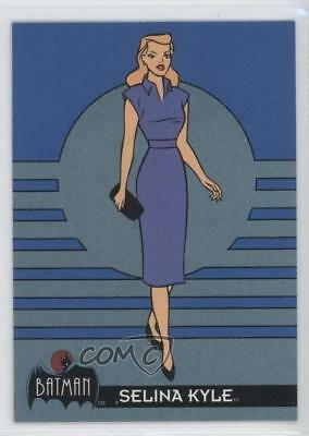 1993 Topps Batman: The Animated Series #14 Selina Kyle Non-Sports Card 9ex