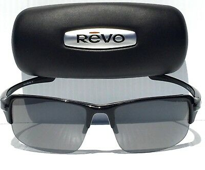 c51b809afd NEW! REVO ABYSS in Black w POLARIZED Graphite Gray Sunglass RE 4041 01 GY