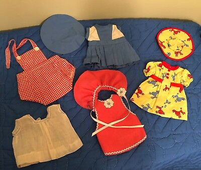 Mixed Lot Vintage 1950's Doll Clothes - Patsy Ann Type