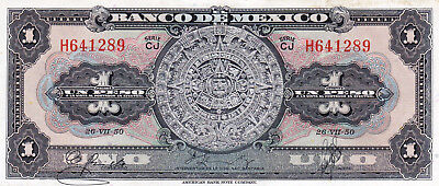 Currency Selection, Mexico, 1 Peso