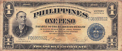 Currency Selection, Philippines, 1 Peso