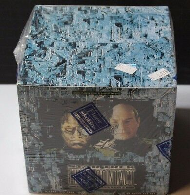Star Trek First Contact Cinema Collection Skybox Sealed Box Trading Cards 36 Pks