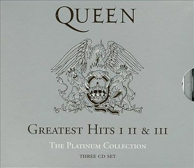QUEEN Greatest Hits I II & III The Platinum Collection. ONLY POST AUSTRALIA.