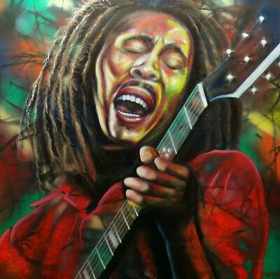 Bob Marley, Original Limited Edition Print, Signed by the Artist
