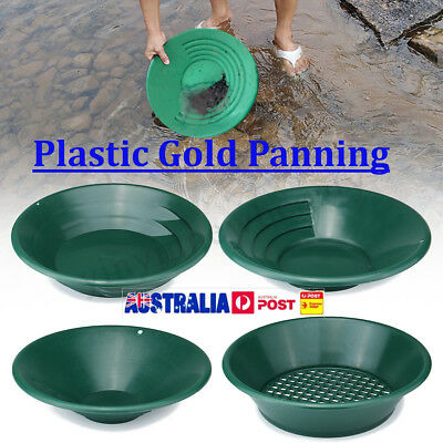 4Pcs Gold Pan Panning Classifier Mesh Screen Mining Sifter Metal Detecting Kit
