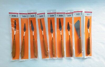 Holbein Stainless Steel Painting Knife S Series for Oil and Watercolor 9 Types