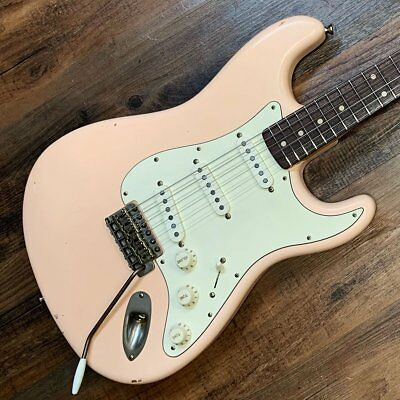 Nash Guitars Model S-63 Aged Shell Pink Lacquer Lollar Pickups NG4566