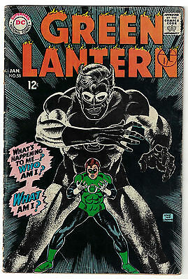 DC Comics GREEN LANTERN Number 58 What's Happening To Me? Who Am I? VG+