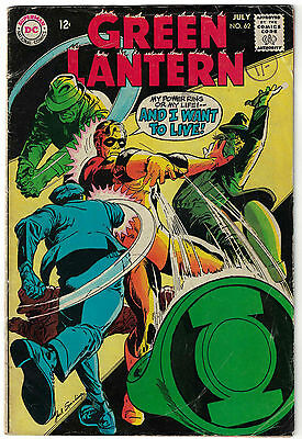 DC Comics GREEN LANTERN Number 62 My Power Ring Or My Life! VG+
