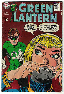 DC Comics GREEN LANTERN Issue 69 See What You've Really Fallen In Love With! VG-