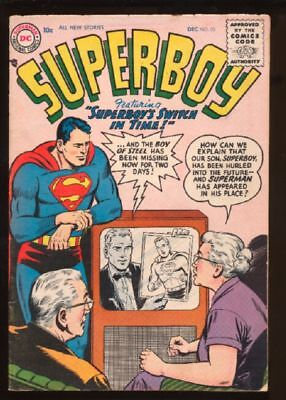 Superboy (1949 series) #53 in Very Good + condition. DC comics [ 2r]