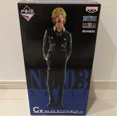 Anime One Piece Sanji Figure Ichiban kuji the Best Edition C Figurine New No Box