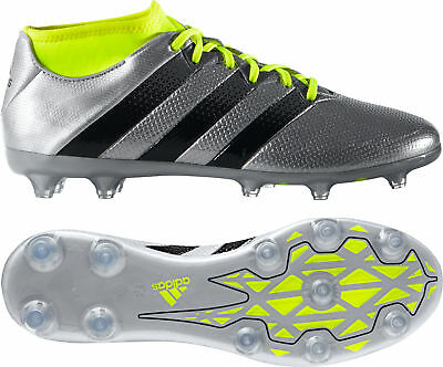 super popular 23d97 f51f4 adidas Ace 16.2 Primemesh Firm Ground Mens Football Boots - Silver