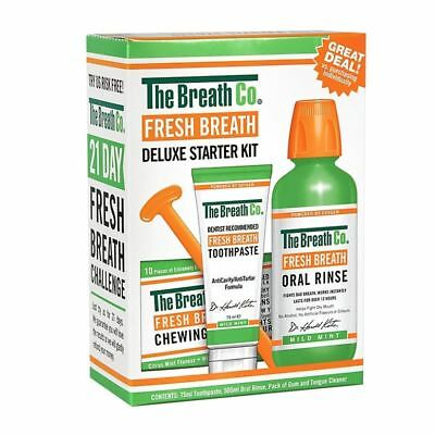 The Breath Co. Fresh Breath Deluxe Starter Kit